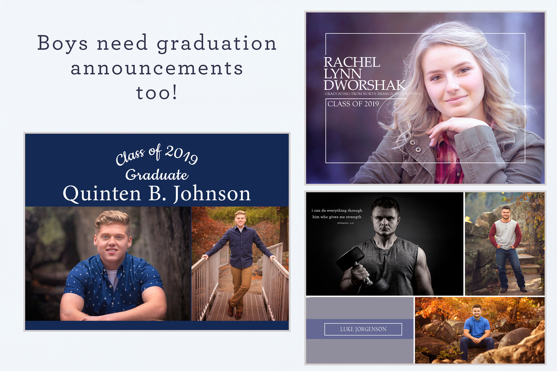Get all your graduation announcements and signs here!