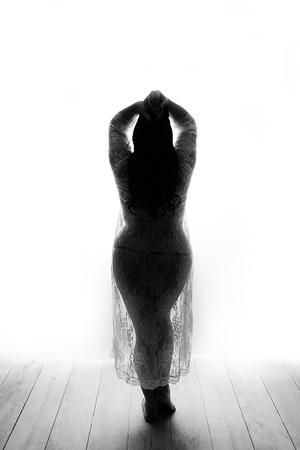Boudoir feminine curves